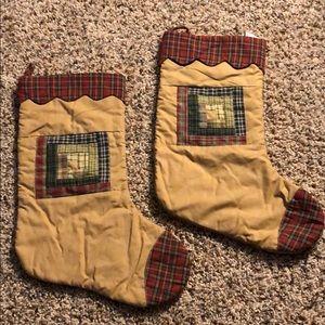 2 Primitive Stockings
